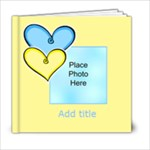 Hearts and lollipop Brag book general purpose 6x6 20 pages - 6x6 Photo Book (20 pages)