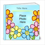 Hearts and Flowers General purpose 6x6 20 page Book - 6x6 Photo Book (20 pages)
