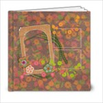 6x6 Shabby Spring Album - 6x6 Photo Book (20 pages)