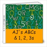 AJs ABCs - 8x8 Photo Book (20 pages)