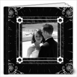 Black and White Elegant 20 Pg 12x12 Photo Book - 12x12 Photo Book (20 pages)