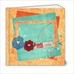 6x6 Picnic in the Park -Album template - 6x6 Photo Book (20 pages)