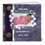 Giana s First Year - 8x8 Photo Book (20 pages)