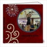 Megan s Gym Book - 8x8 Photo Book (20 pages)