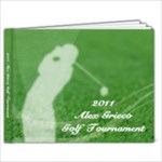 Golf Book 9x7 - 9x7 Photo Book (20 pages)