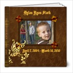 Dylan Ryan Slack 2004-2010 (with photos checked and spelling) - 8x8 Photo Book (30 pages)