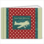 Airplane 7x5 Book - 7x5 Photo Book (20 pages)