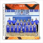 Basketball 2011 Graduation Book - 8x8 Photo Book (20 pages)