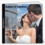 Wedding Album (Adam and Chelsea Fearon) - 12x12 Photo Book (60 pages)
