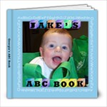Alphabet Photo Book - 8x8 Photo Book (20 pages)