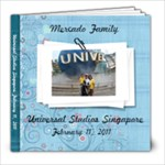 MERCADO FAMILY IN UNIVERSAL STUDIOS SINGAPORE - 8x8 Photo Book (20 pages)