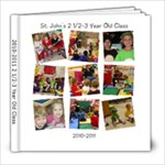 Teacher Book - 8x8 Photo Book (20 pages)