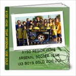 ARSENAL BOOK 2010/1011 - 8x8 Photo Book (20 pages)