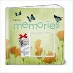 Poppies 6x6 book - 6x6 Photo Book (20 pages)