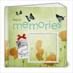 Poppies 8x8 Book - 8x8 Photo Book (20 pages)