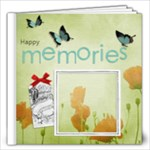 Poppies 12x12 Book - 12x12 Photo Book (20 pages)