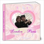 London-Paris 2011 - 8x8 Photo Book (39 pages)