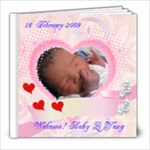 Baby Zi Yang new born - 8x8 Photo Book (20 pages)