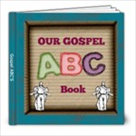 my gospel abcs gift for nursery - 8x8 Photo Book (30 pages)