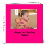 Peyton s 2nd Birthday - 8x8 Photo Book (20 pages)