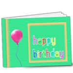 Birthday Book 9x7 book Deluxe - 9x7 Deluxe Photo Book (20 pages)