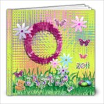 Easter Spring 8x8 photo book - 8x8 Photo Book (20 pages)