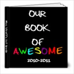 First Grade Book - 8x8 Photo Book (20 pages)