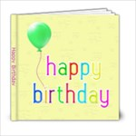 Bday Book 6x6 23 page - 6x6 Photo Book (20 pages)