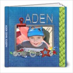 Aden Book 5 - 8x8 Photo Book (20 pages)