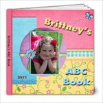 brittneys abc book - 8x8 Photo Book (30 pages)