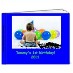 tommys 1st birthday - 9x7 Photo Book (20 pages)