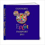 Connor s Passport - 6x6 Photo Book (20 pages)
