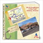 EN US Southwest 7-Day Tour (4.20 & 21, 2010)  - 8x8 Photo Book (20 pages)