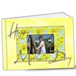 Happy Mothers Day Deluxe 9 x 7 20 page book - 9x7 Deluxe Photo Book (20 pages)