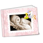 Babylove newborn baby girl Deluxe bragbook 7 x 5 - 7x5 Deluxe Photo Book (20 pages)