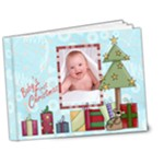 Christmas Bragbook Deluxe 7 x 5 20 page book - 7x5 Deluxe Photo Book (20 pages)