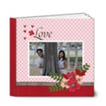 6x6 DELUXE- Love is in the Air - 6x6 Deluxe Photo Book (20 pages)