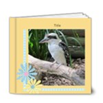 Crisp Buttercup General Purpose Deluxe Book 6x6 (20 Pages) - 6x6 Deluxe Photo Book (20 pages)