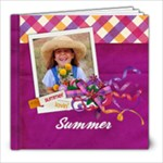 8x8 Summer Lovin  Album - 8x8 Photo Book (20 pages)
