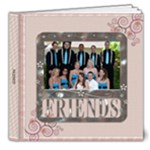 Friends 8x8 Deluxe Photo Book (20 Pages)