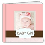 baby girl - 8x8 Deluxe Photo Book (20 pages)