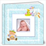 Teddy Beddy Baby Boy 12 x 12 Book 20 pages - 12x12 Photo Book (20 pages)