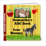 ABC Photo Book Template, Personalized Kids Childrens Alphabet - 6x6 Photo Book (20 pages)