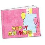 Happy Birthday Deluxe 7x5 Girl - 7x5 Deluxe Photo Book (20 pages)