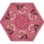 Pink Floral- mini umbrella - Mini Folding Umbrella