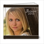 Jasmine 6x6 - 6x6 Photo Book (20 pages)