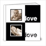 Angelica Classic Black & White  6 x 6 20 page book - 6x6 Photo Book (20 pages)
