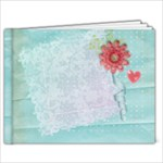Floral & Lace 9x7 Album - 9x7 Photo Book (20 pages)