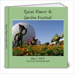 Epcot Flower Festival - 8x8 Photo Book (20 pages)