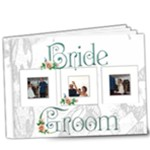 Bride & Groom Deluxe  20 page 9 x 7 book - 9x7 Deluxe Photo Book (20 pages)